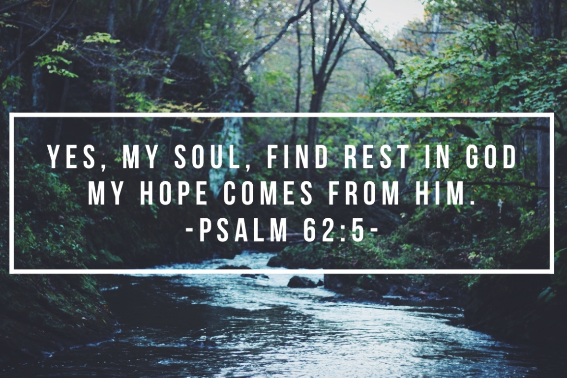 Resting in Him over Striving Alone