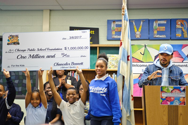 The Good News: Chance the Rapper Donates $1M toCPS