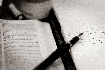 bible-studying-pen-papger.gif