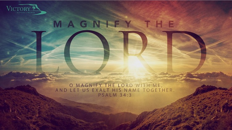 Magnify-the-lord
