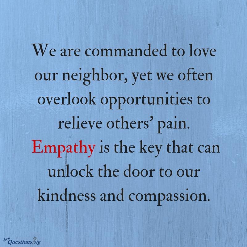 Bible-empathy