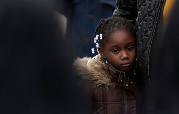 black-girl-rally-protest-child