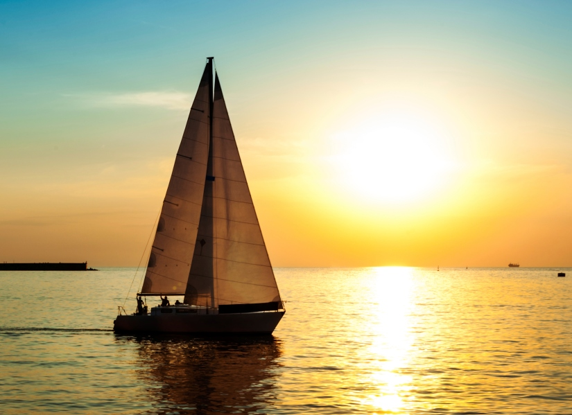 Sailboat-sunset